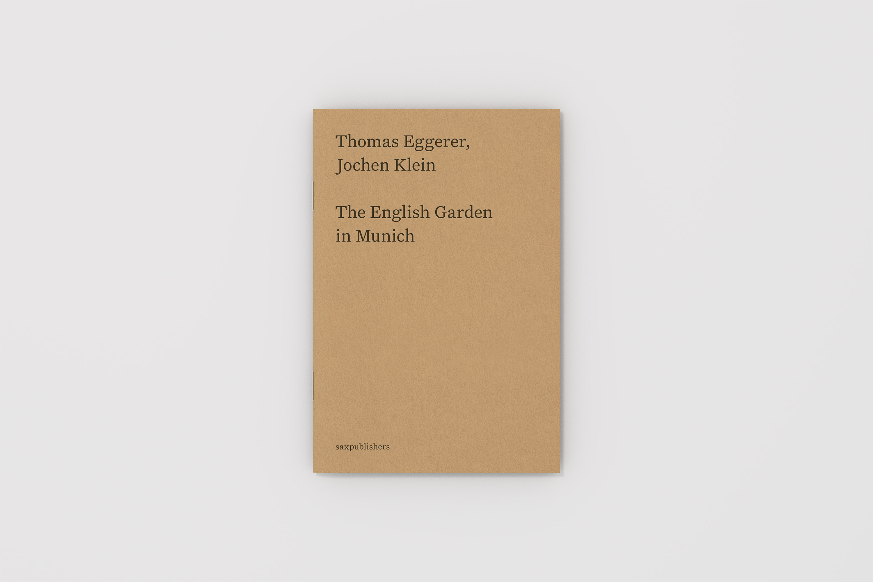 Thomas Eggerer, Jochen Klein <i>The English Garden in Munich</i>, 1994/2017